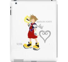 Kingdom Hearts-Sora-Font iPad Case/Skin