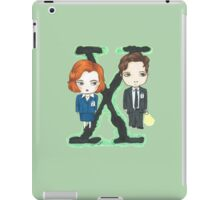 Mulder y Scully iPad Case/Skin