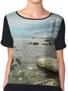 Seascape 1 Chiffon Top