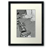 Guitar Pedals Framed Print