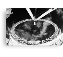 London Eye From Directly Below Canvas Print