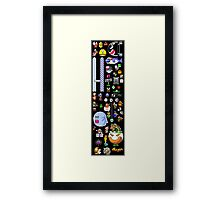 Super Mario World Sprites Framed Print