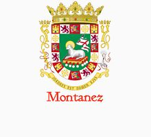 Montanez Shield of Puerto Rico Unisex T-Shirt