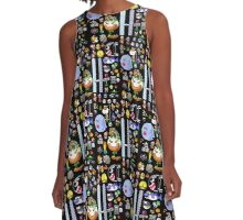 Super Mario World Sprites A-Line Dress