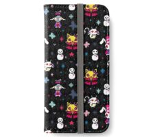 Karneval - Black iPhone Wallet/Case/Skin