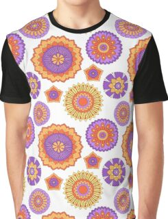 Zentangle Flowers Graphic T-Shirt
