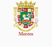 Montes Shield of Puerto Rico Unisex T-Shirt