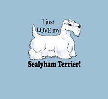 I Love My Sealyham! (White)  Unisex T-Shirt