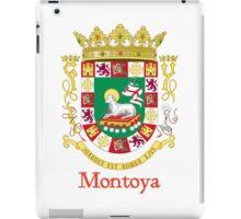 Montoya Shield of Puerto Rico iPad Case/Skin