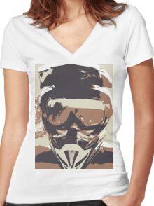 YourLife Women's Fitted V-Neck T-Shirt