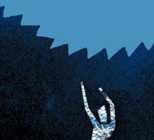 BLUE OCTOBER INTO OCEAN Sticker