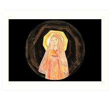 Amaterasu - Goddess  Art Print