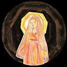 Amaterasu - Goddess  by Paola Suarez