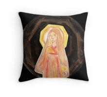 Amaterasu - Goddess  Throw Pillow