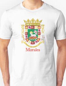 Morales Shield of Puerto Rico Unisex T-Shirt