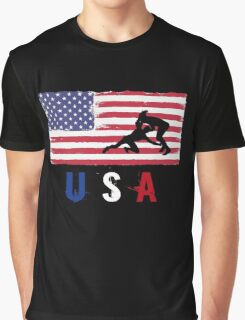 USA Judo 2016 competition wrestling judoka funny t-shirt Graphic T-Shirt