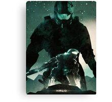 Master Chief Halo Canvas Print