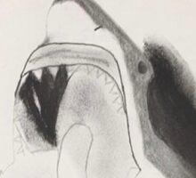 Oh Wonder Shark Sticker Sticker