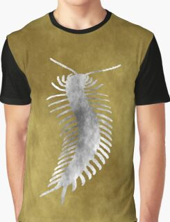 Grunge Style Centipede Graphic T-Shirt