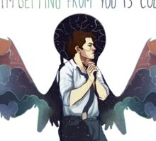 color Castiel  Sticker