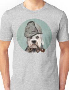 Dandie Dinmont Terrier Detective Unisex T-Shirt
