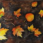 Autumn Colors by Halina Plewak