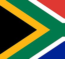 National flag of the Republic of South Africa Authentic version by Bruce Stanfield