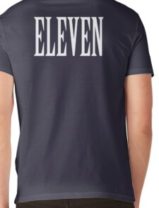 Eleven, Eleventh, 11, TEAM SPORTS NUMBER, Competition, WHITE Mens V-Neck T-Shirt