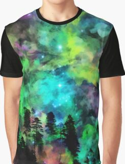 Colorful Sky Graphic T-Shirt