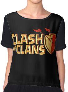 CLASH OF CLANS LOGO EPIC Women's Chiffon Top