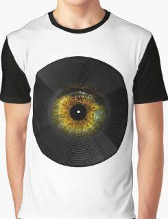 Vinyl Music Graphic T-Shirt
