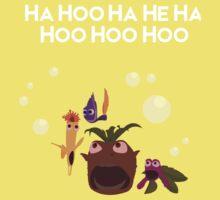 Ha Hoo Ha He Ha Hoo Hoo Hoo Kids Tee