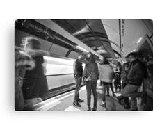 Underground Gathering Canvas Print
