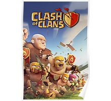 CLASH OF CLANS WAR AGAIN Poster