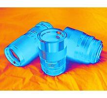 Pop Art Camera Lenses Photographic Print