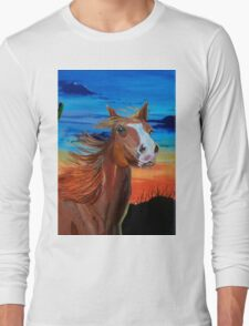 Arizona Horse Long Sleeve T-Shirt