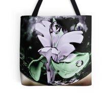 Flower Globe Tote Bag