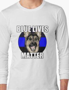Blue Lives Matter  2 Long Sleeve T-Shirt