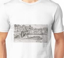 Vltava River, Prague  Unisex T-Shirt