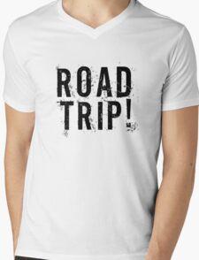 Road Trip Random Grunge Punk Holliday Mens V-Neck T-Shirt