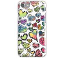 Hippie Hearts iPhone Case/Skin