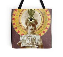Wheel of Fortune Oracle Tote Bag