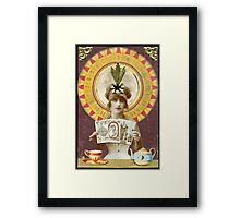Wheel of Fortune Oracle Framed Print