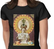 Wheel of Fortune Oracle Womens Fitted T-Shirt