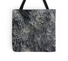 water splashes down a waterfall Tote Bag