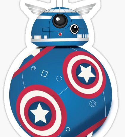 BB8 Friends Series 1 - The Hero Sticker