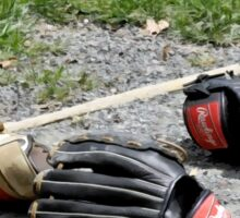 Baseball gloves Sticker