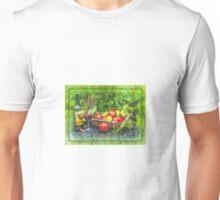 wine and fruit Unisex T-Shirt