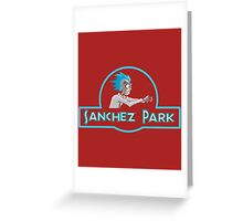 NEW SANCHEZ PARK - RICK MORTY Greeting Card