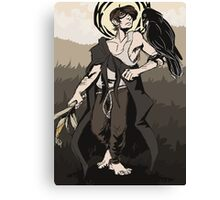 The Cornfield Witch  Canvas Print